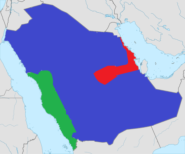 Территории крупнейших по площади стран, разделенные на 3 части с одинаковым населением (Часть 2) население, Казахстан, алжир, Конго, Саудовская Аравия, Мексика, Судан, Ливия, длиннопост