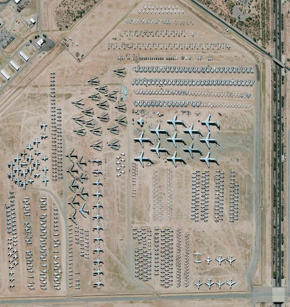 Самое большое кладбище самолетов в мире