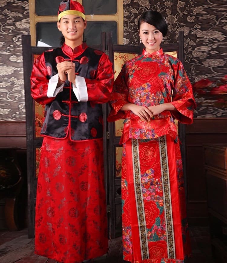 china traditional wedding outfits from around the world wedding dress bride groom