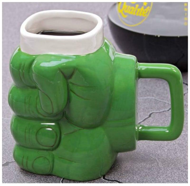 Кружка для супермена, сильного как Халк интересно, искусство, кружки, удивительно, чашки