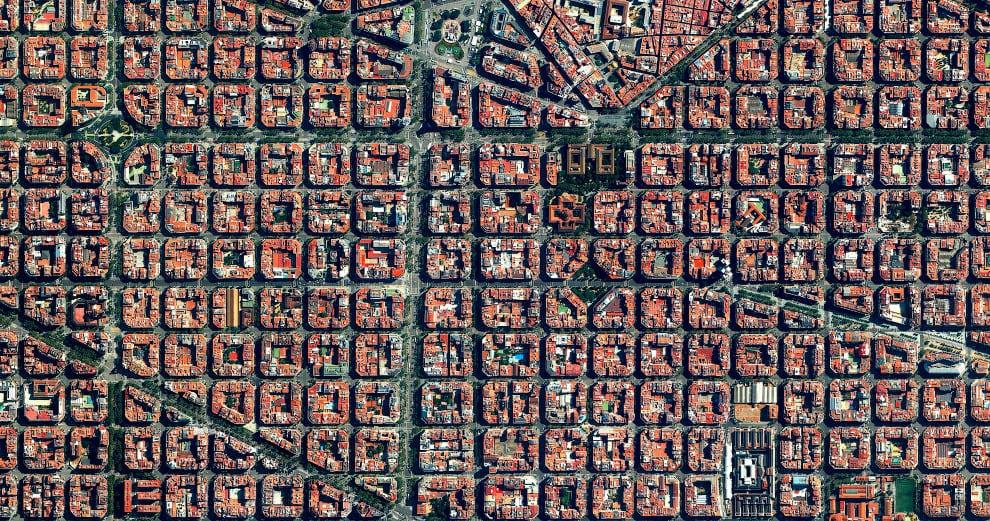Эшампле или Новый Город