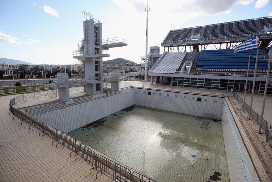 Дайвинг бассейн, Афины, 2004 Место проведения летних Олимпийских игр
