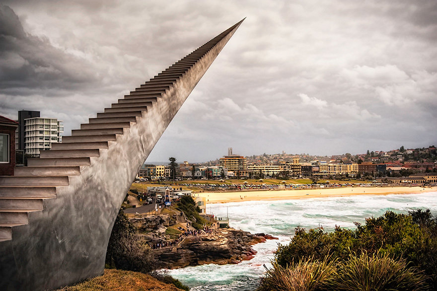Diminish And Ascend By David Mccracken, Bondi, Australia