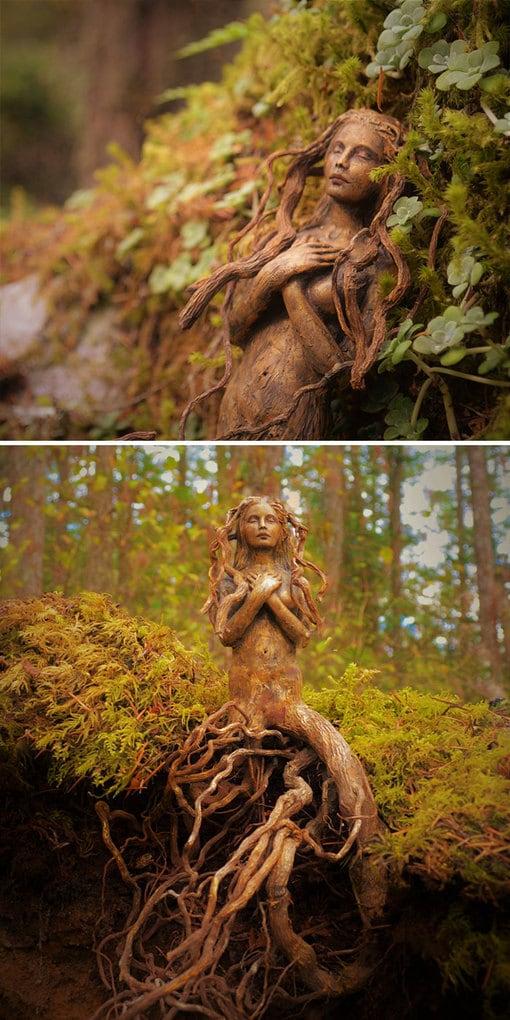 Driftwood-spirit-sculptures-debra-bernier