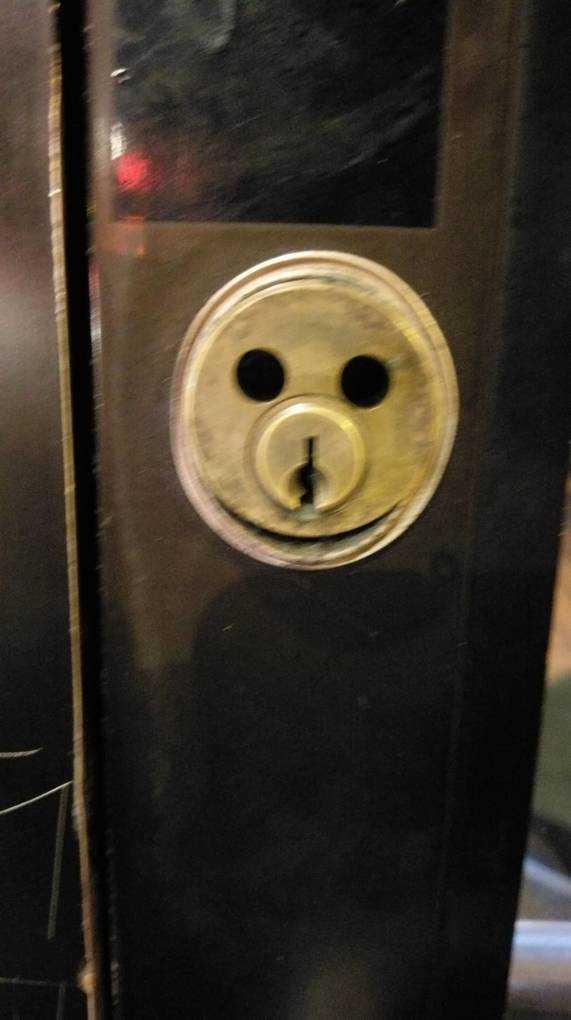 Happy lock
