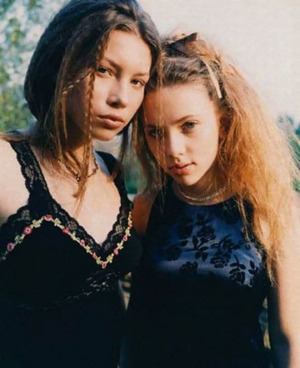 16-Year-Old Jessica Biel And 14-Year-Old Scarlett Johansson, 1998