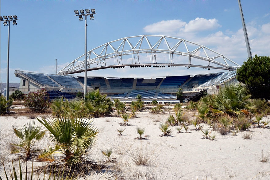 Пляжный волейбол центр, Афины, 2004 Место проведения летних Олимпийских игр