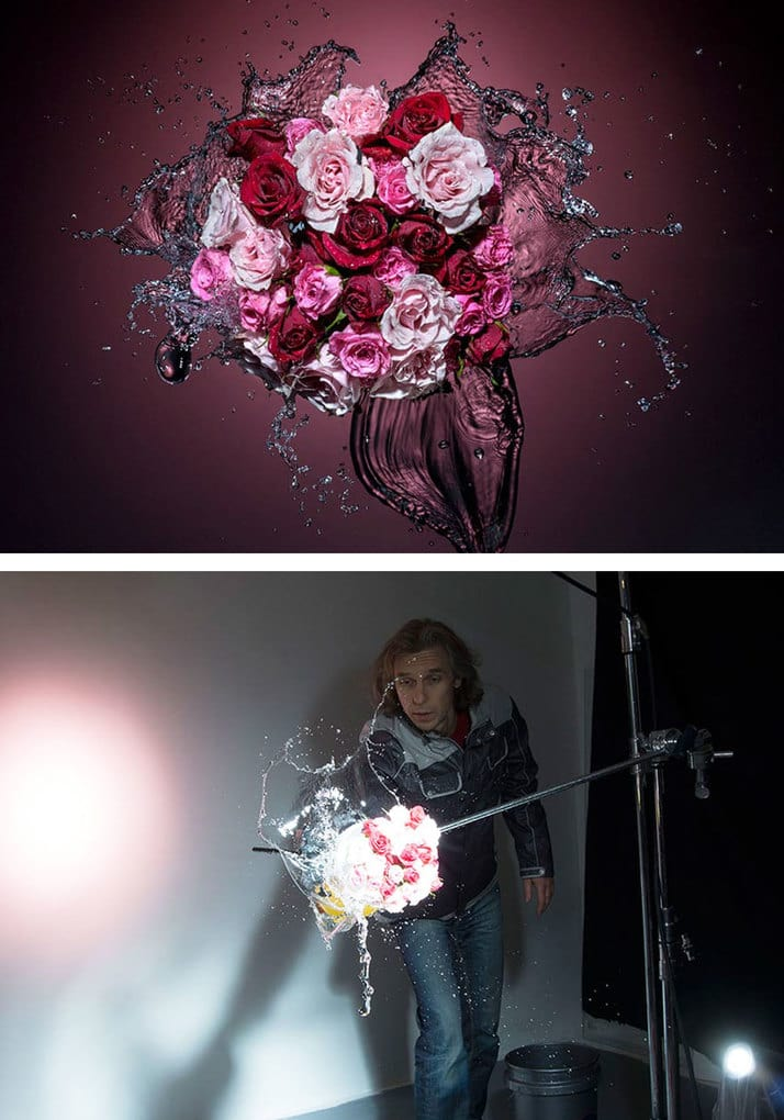 Splashing Roses Photography