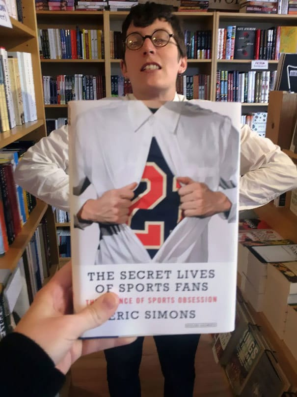 The Secret Lives Of Sports Fan Book Cover