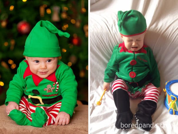 Baby Elf. Nailed It