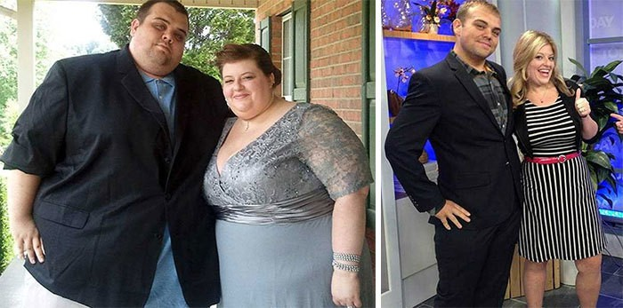 Before, After Photos Of Tennessee Couple's 538lb Weight Loss