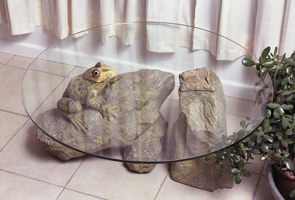 творческие Столы-вода-животных-Дерека-Pearce-4