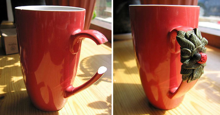 Fix Broken Mug With Polymer Clay