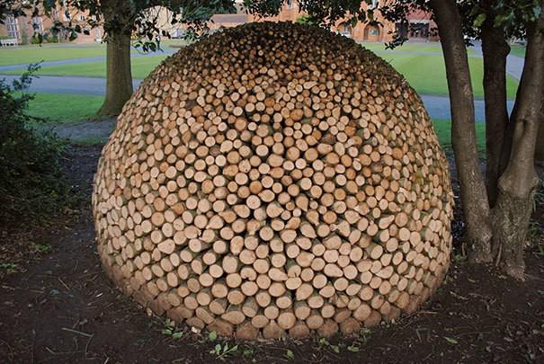 Round Woodpile