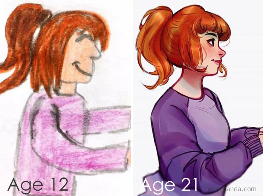 About 9 Years Of Progress By Laura Brouwers