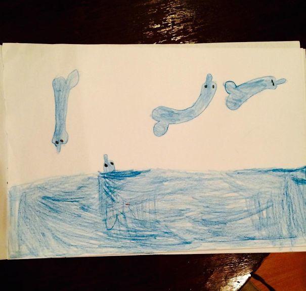 Моя дочь дельфинарий