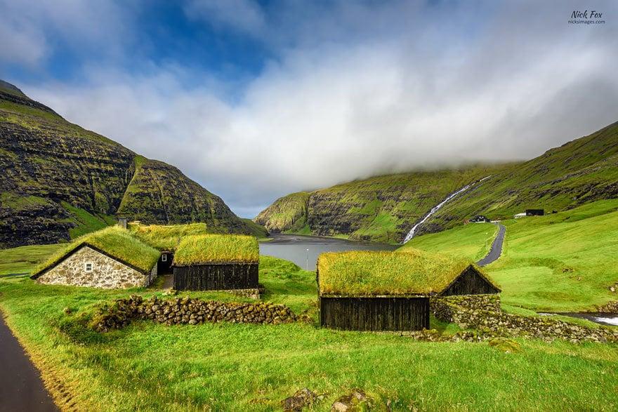 Saksun Village, Streymoy, Faroe Islands