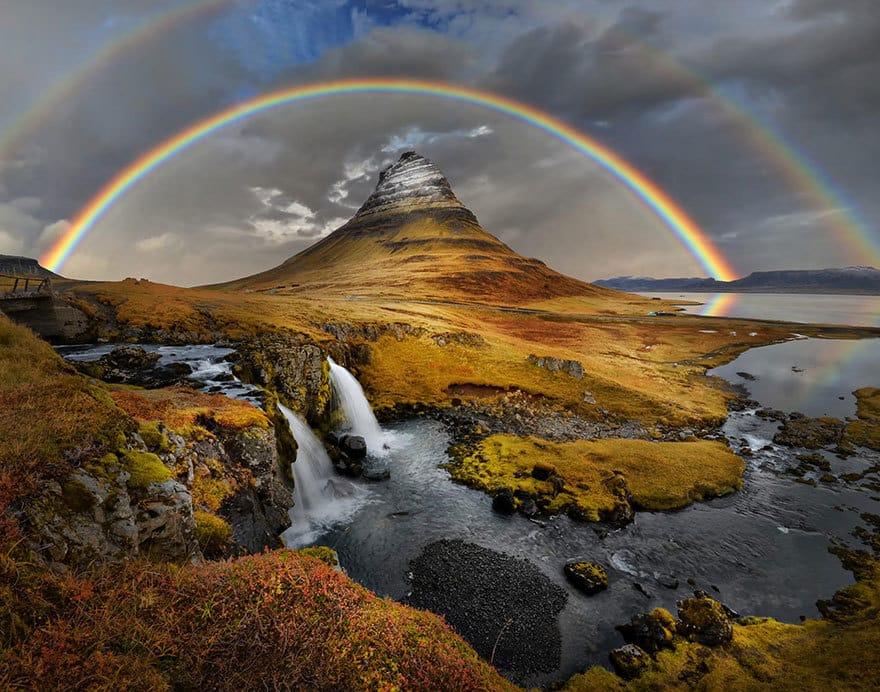 Rainbow Over Kirkufell
