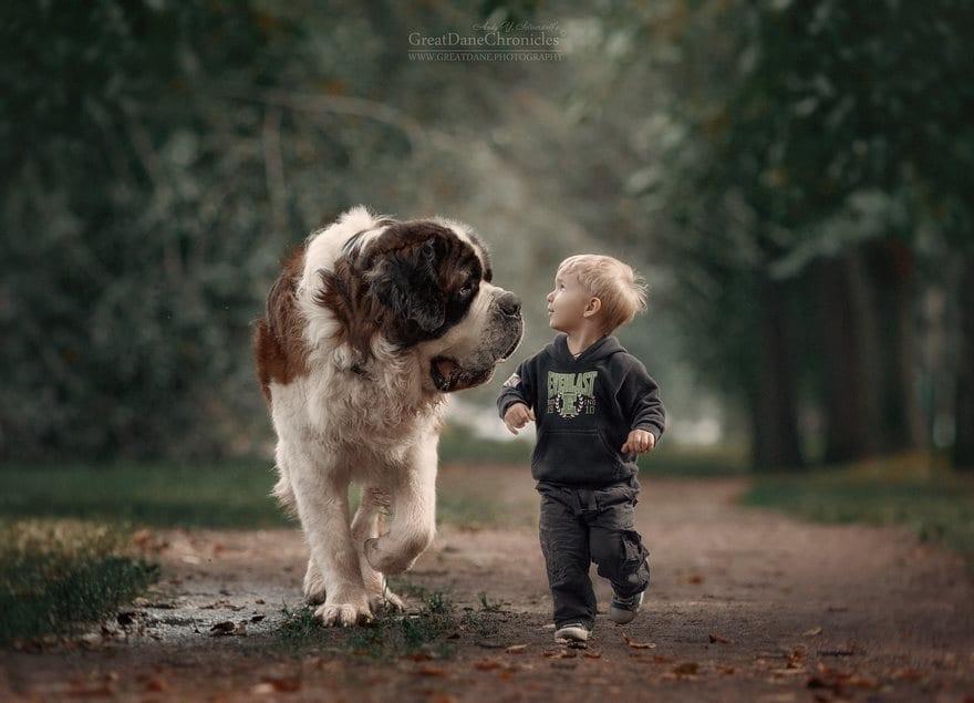 Little Kid Big Dog
