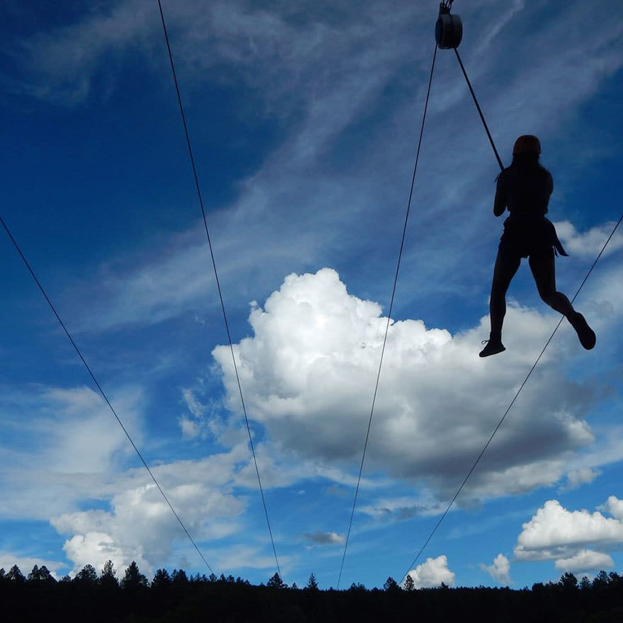 Zip-line Adventure, 1st Place In Wild Vacation (US) By Ryan Hughes, Age 13