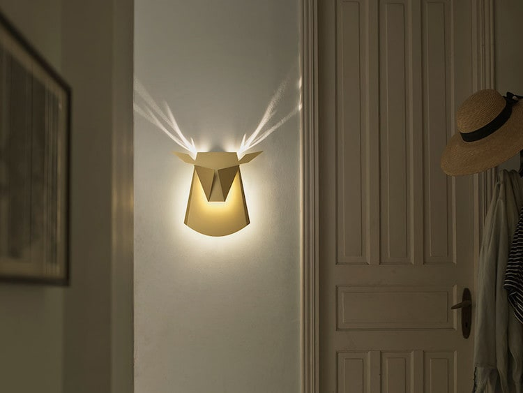 nature-inspired furniture popup lighting lamp