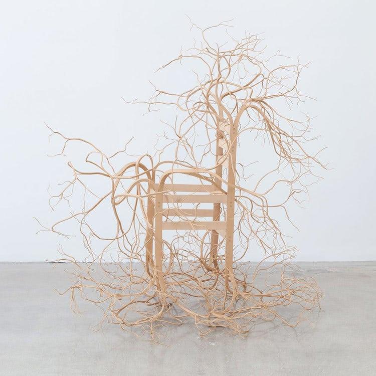 nature-inspired furniture chair trees pontus wilfors