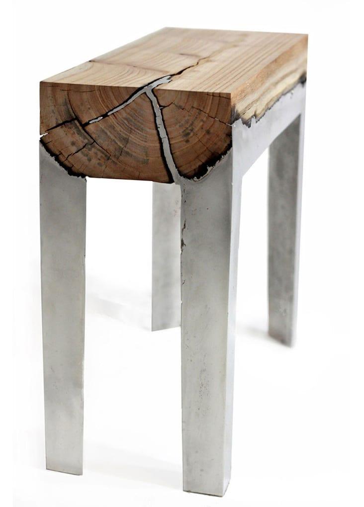 nature-inspired furniture hilla shamia table