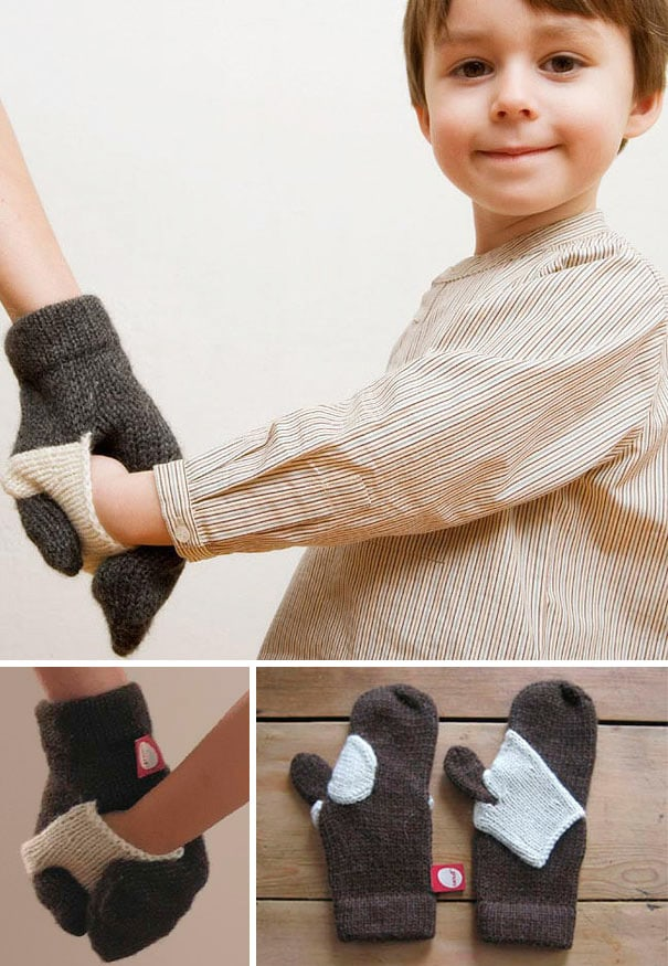 Stop Losing Your Kid With Forget-Me-Not Kid Mittens
