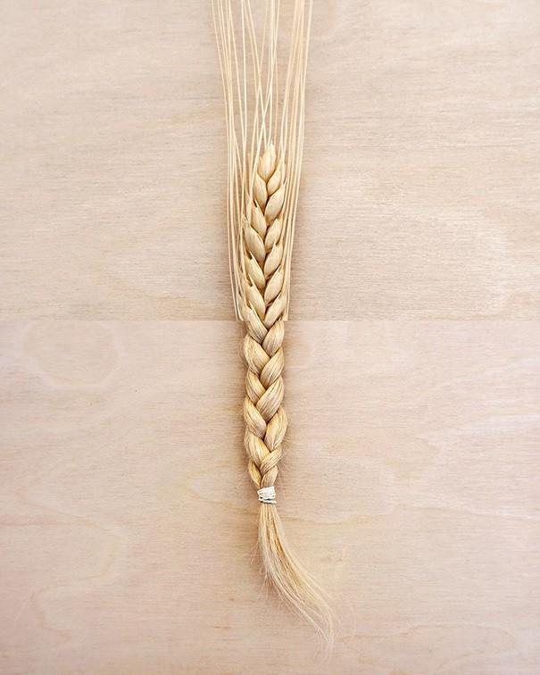 4. Пшеница и коса.