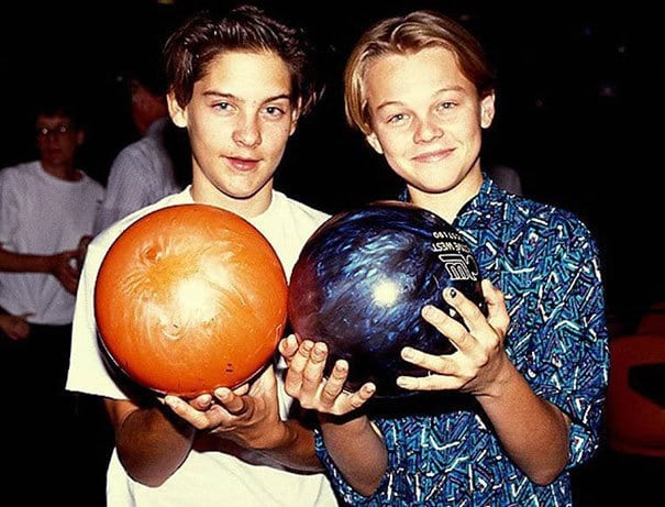 Tobey Maguire And Leonardo Dicaprio Met At An Audition At A Young Age. Best Buddies Since The 90