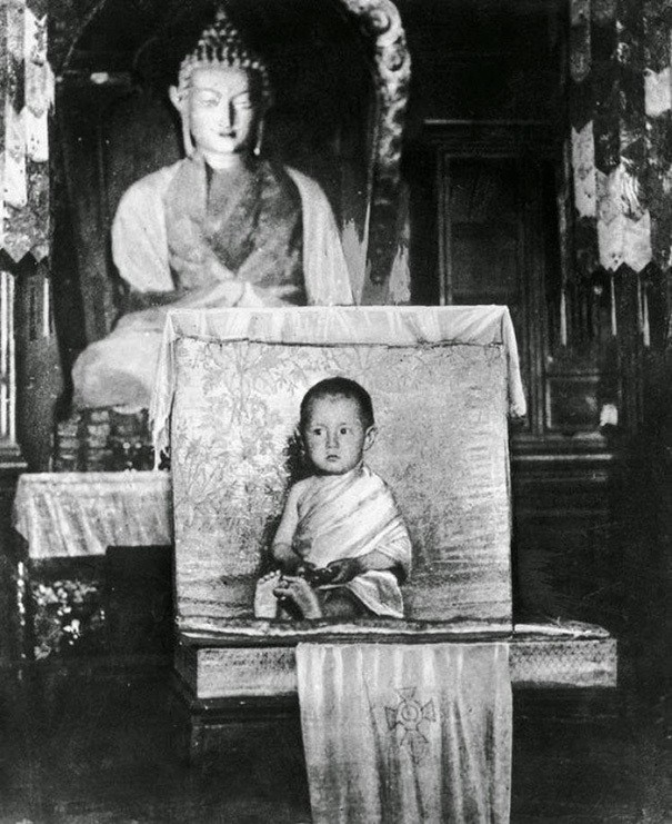 The 14th Dalai Lama As A Young Child