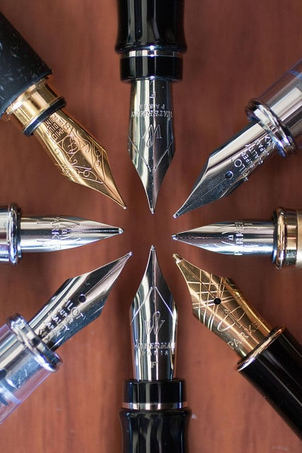 These fountain pens.
