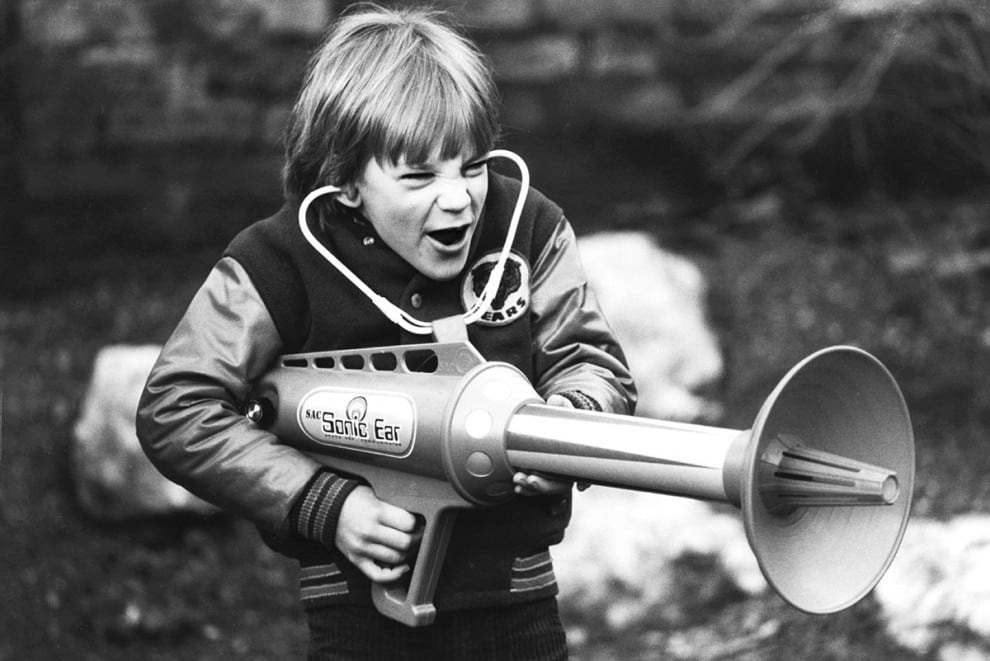 The Sonic Ear high-velocity listening device, 1979: