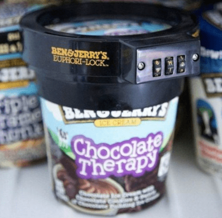 And for dessert, you KNOW you've got ice cream on lock in the freezer.
