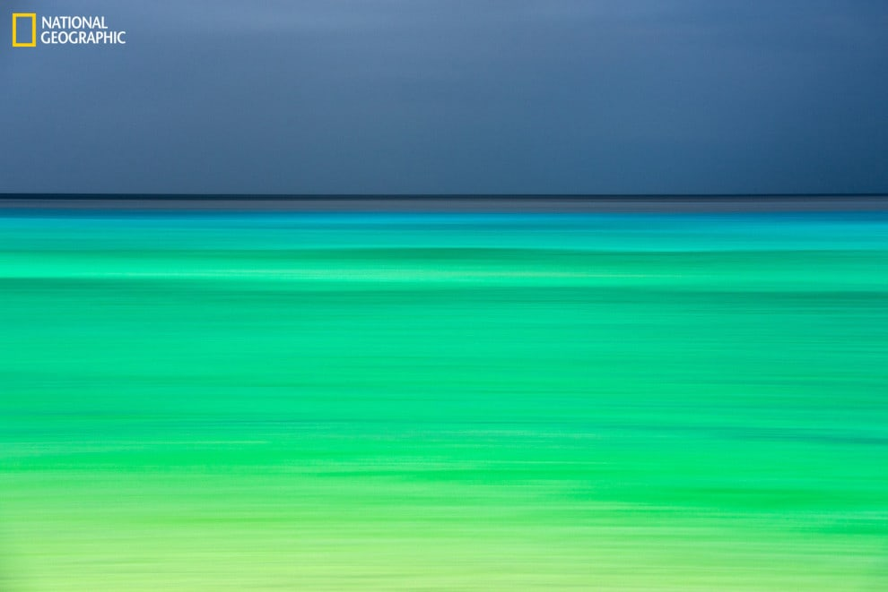 A photo that looks like a Rothko Painting, taken in Kaua