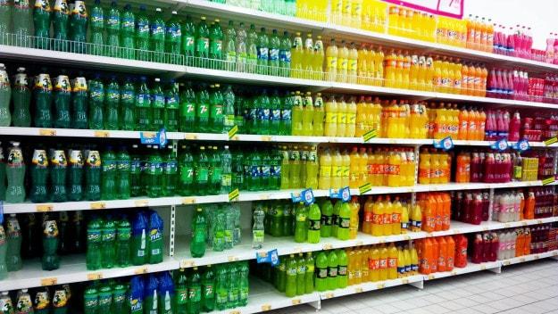 This eye-pleasing soda aisle: