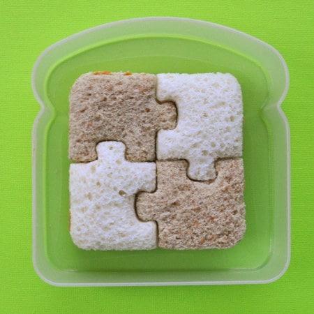 This sandwich puzzle: