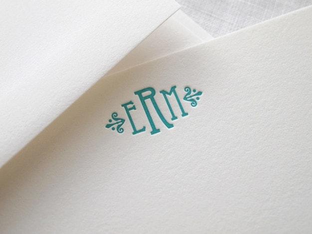 This satisfying letterpress print.