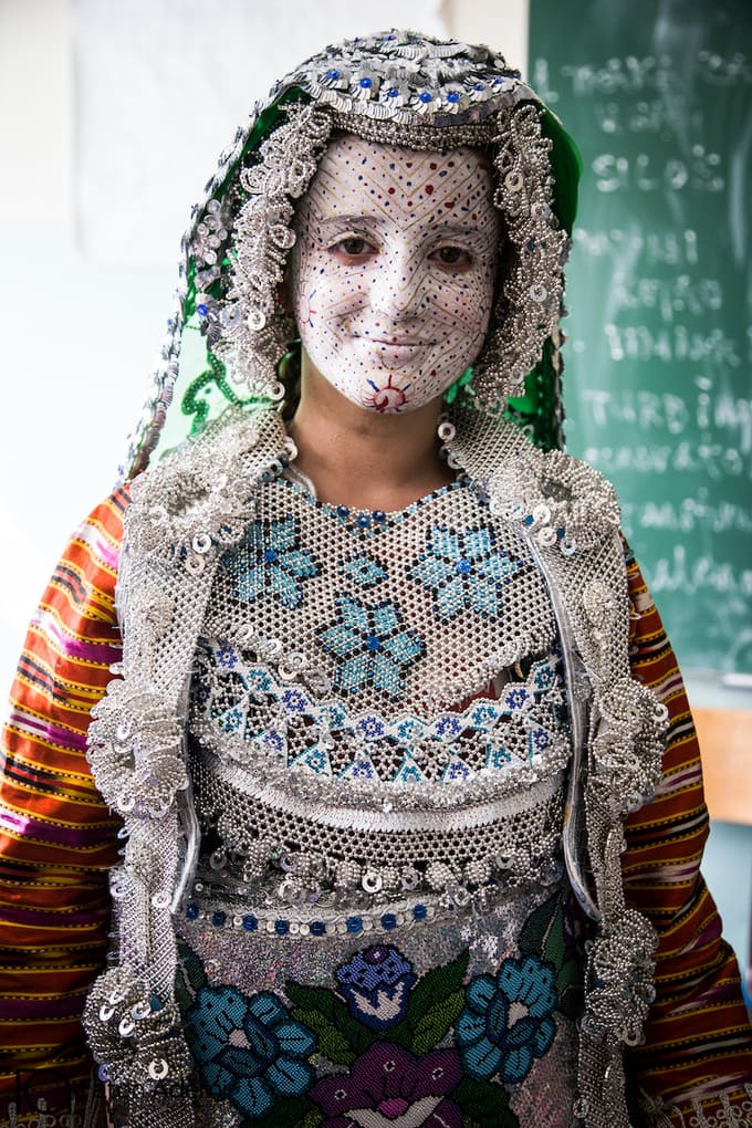 Kosovo traditional wedding outfit