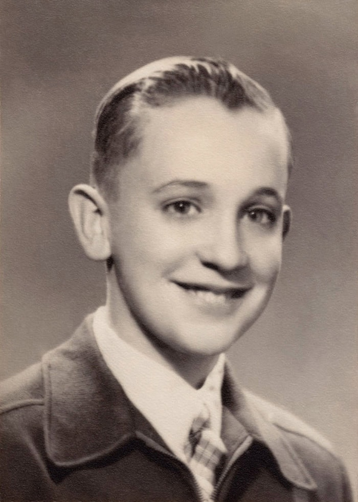 Pope Francis As A Young Boy