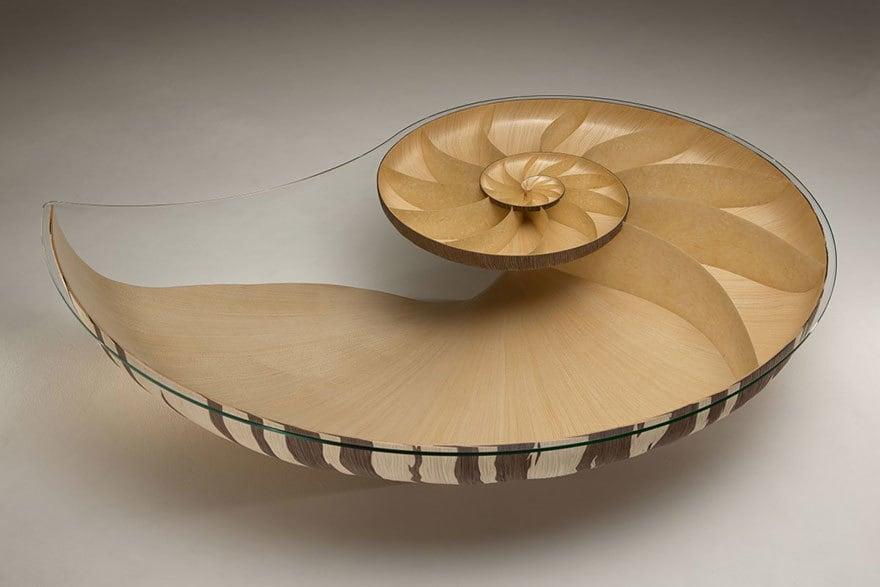 Tisch Design Nautilus