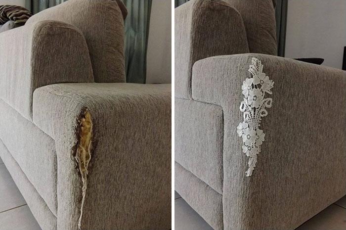 Чем освежить диван в домашних условиях 152