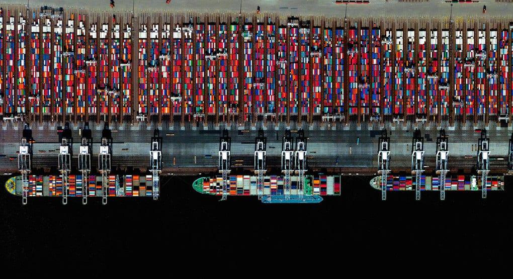 Port-of-Rotterdam,-Netherlands