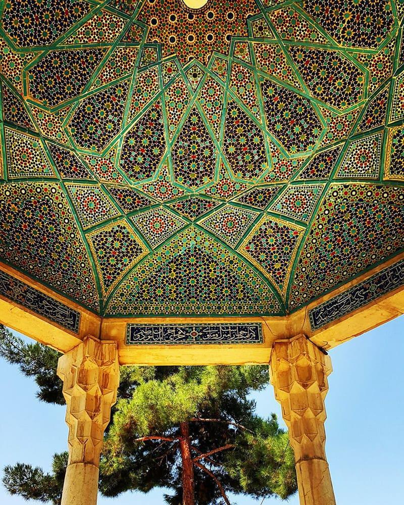 Мавзолей Хафеза, Шираз, Иран иран, красота, мечеть