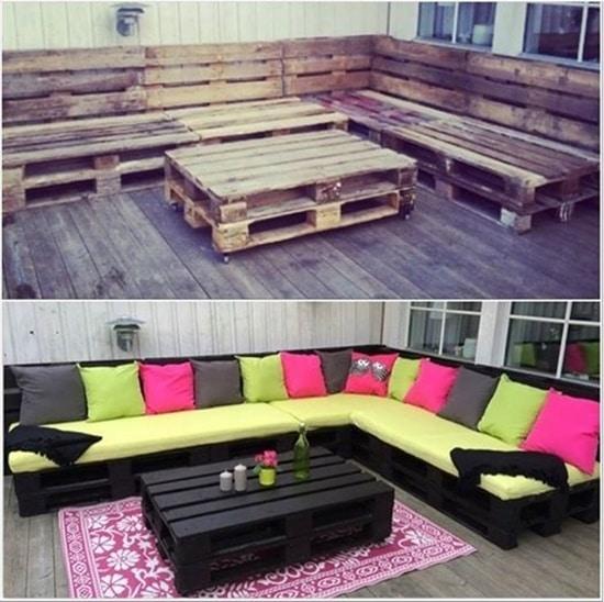 Pallet Lounge 50 Wonderful Pallet Furniture Ideas and Tutorials