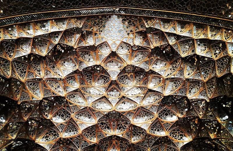 Дворец Чехель Сотун, Исфахан, Иран иран, красота, мечеть
