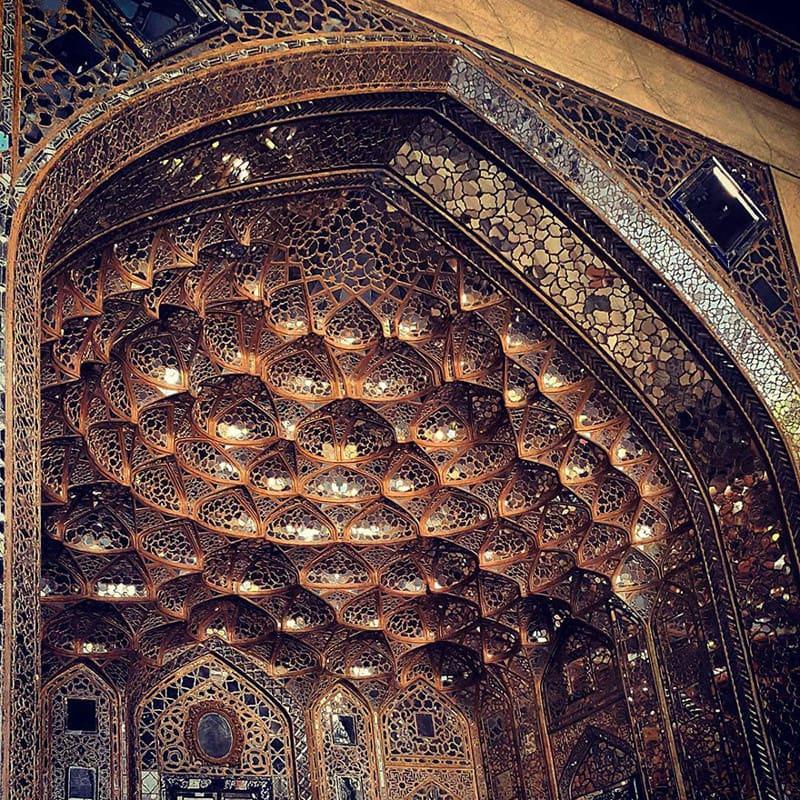 Дворец Шаха Аббаса Сафави, 400 лет иран, красота, мечеть