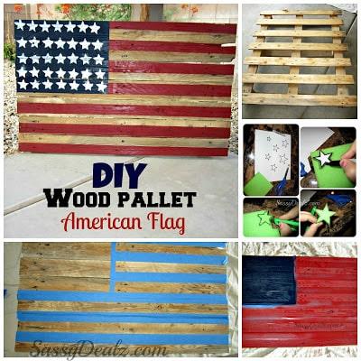 pallet flag-wonderfuldiy