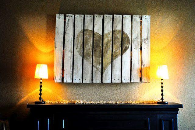 pallet wall art-wonderfuldiy