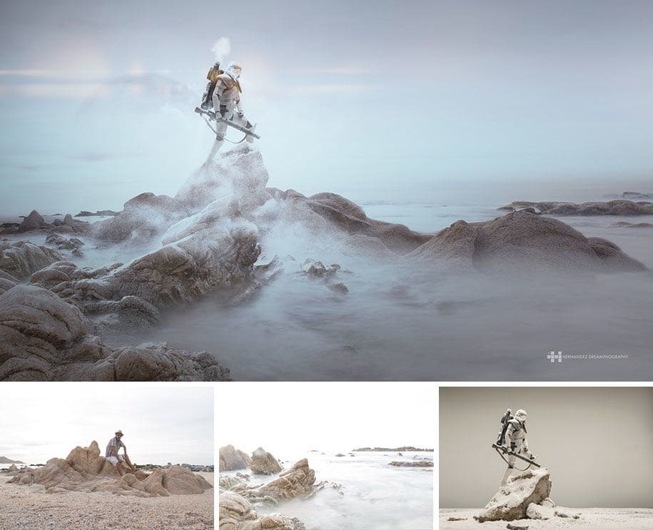 Felix Hernandez Rodriguez uses toys to create dream worlds